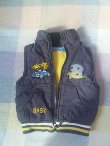 Dečije jakne i kaputi | Paracin: Prsluk za decaka kao nov vel.2