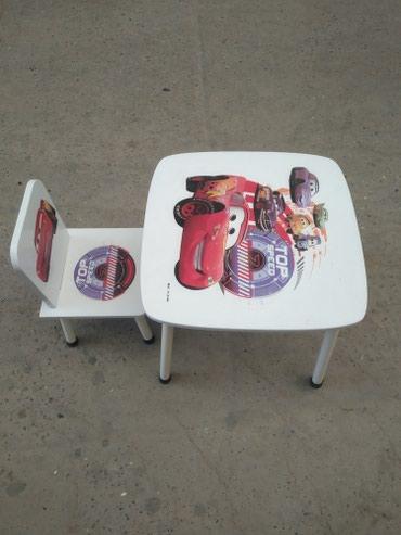 Xırdalan şəhərində Uşaq masası,tezedi,qız üçündə var,başqa modellər çoxdur,