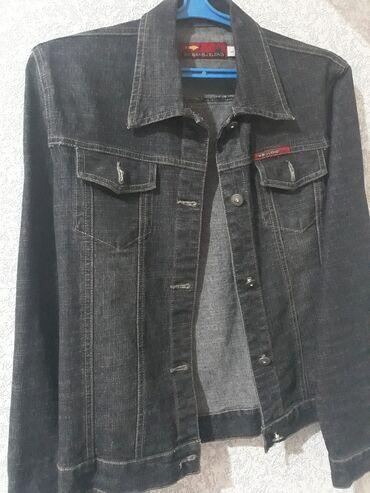 Куртка джинсовая размер l