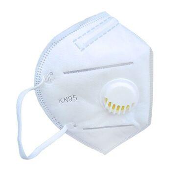 Медтовары - Новопавловка: Высококачественные респираторные маски кн95 с клапаном, защита на