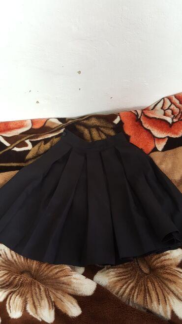 Школьная юбка  выше колены