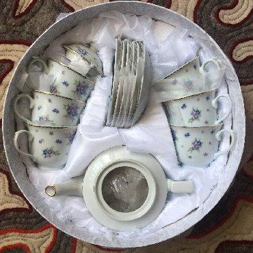 фарфоровый сервис в Кыргызстан: Чайный сервис