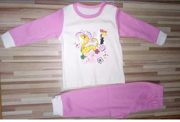 Dečija odeća i obuća | Krusevac: Nova, pamucna pidzama. Velicina 68