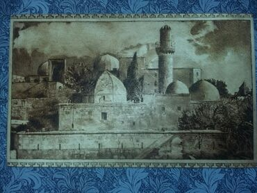 detskaya obuv na kabluke в Азербайджан: Vjiqaniya na dereve Şirvanşahlar sarayı əl işi