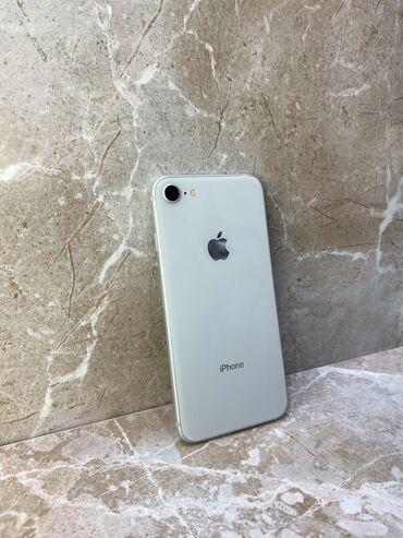 аккумулятор iphone 6 купить в бишкеке в Кыргызстан: Б/У iPhone 8 64 ГБ Белый