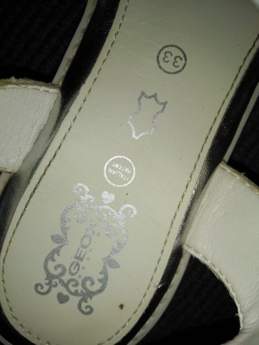 Na prodaju sandale za devojčice, original brenda GEOX. .. Broj 33. - Cuprija