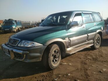 ssangyong musso тюнинг в Кыргызстан: Ssangyong Musso 2.3 л. 2002