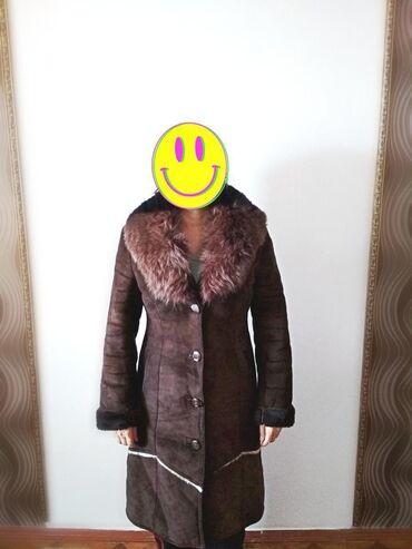 Женские пальто в Кыргызстан: ПРОДАЮТСЯ ДУБЛЁНКИС воротником 3000 торгТигровый 1000Размер