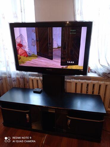Электроника - Новопокровка: Продаю телевизор с подставкой 42 д.корейский