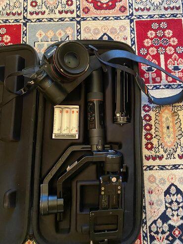 50mm - Azərbaycan: Sony A7 ii +50mm+perxodnik+3batareyka Zhiyun crane 2