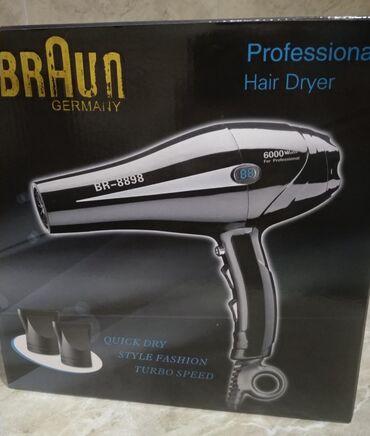 """Fen """"Braun BR-8898""""   Braun feni 6000 w gücündə, şəxsi istifadə və sal"""