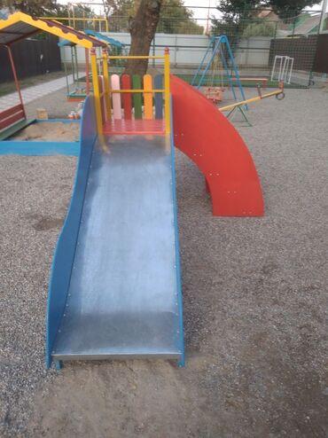 детские игровые площадки для двора в Кыргызстан: Детские горки для малышей!!! Небольшие горки для детей 2-4 летнего