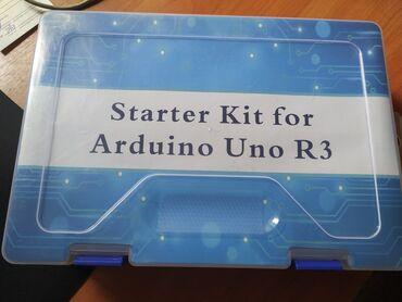 Стартовый набор ардуино для робототехники.Полный комплект.+ Бесплатный