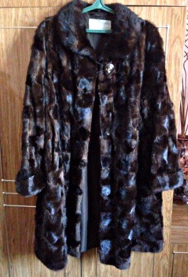 Норковая шуба из кксочков размер 52-54 длинна ниже колен , торг уместе в Бишкек