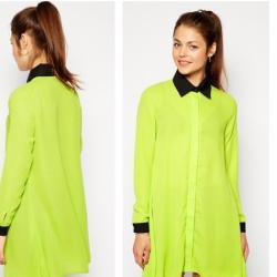Платье рубашка шифоновая с Asosa размер s-m