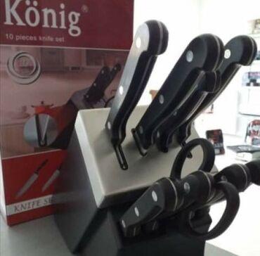 Noževi | Srbija: Set samooštrećih noževa KonigChef Power desetodelni set uključuje
