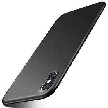 чехол в Азербайджан: Чёрный чехол для IPhone XS Max