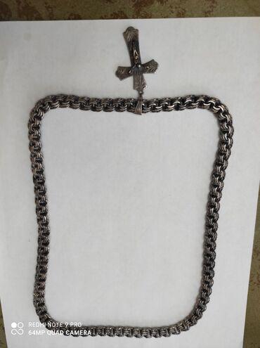 Midas 14k цепочка - Кыргызстан: Продаю мужские серебряные цепочки. Проба 925. Имеется в продаже три