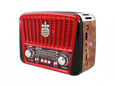 Bluetooth speaker rbt retro radio επαναφορτιζομενο σφραγισμενο στο κο