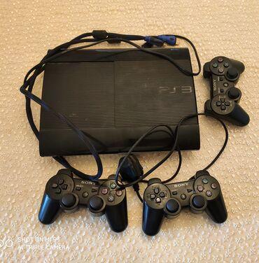 Elektronika Samuxda: PlayStation 3 satıram. 3 ədəd pultu var hər 3 pult işlək vəziyyətdədir
