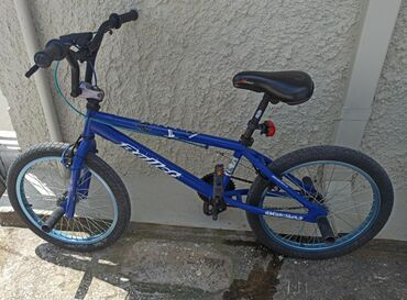 BMX bike in great condition recently upgraded new wheels and