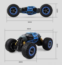 мягкая детская игрушка в Кыргызстан: Машинка-перевертыш + бесплатная доставка по КРUD2168A 2.4G 4WD Double