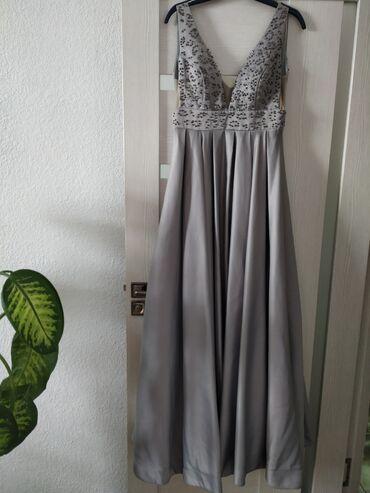 прокат платье вечернее в Кыргызстан: Атласное Вечерние платье на прокат