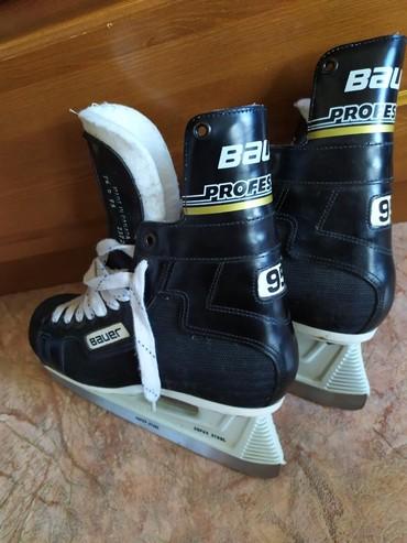 bauer в Кыргызстан: Продаются мужские, хоккейные, профессиональные коньки Bauer