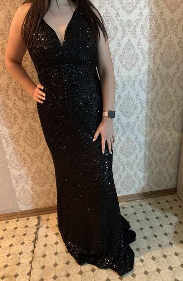 вечернее турецкая платье в Кыргызстан: Новое турецкое платье. Размер написано 42 но по мне 44-46. М подходит