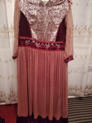 Женское платье в национальном стиле. Размер 52-54, в идеальном