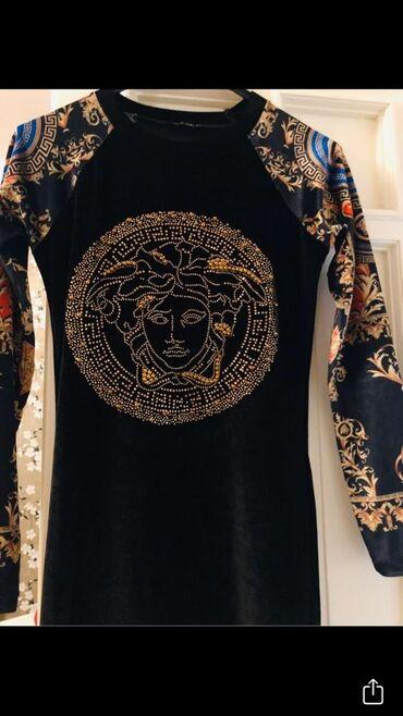 Платье вечернее роскошное новое модель Версаче, размер Л/40. Бархатное