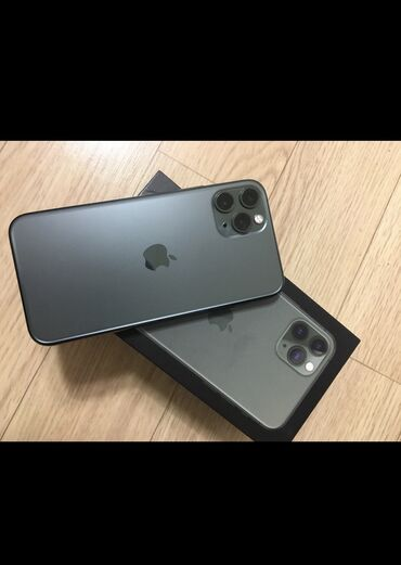 соски в Кыргызстан: Б/У IPhone 11 Pro 64 ГБ Зеленый