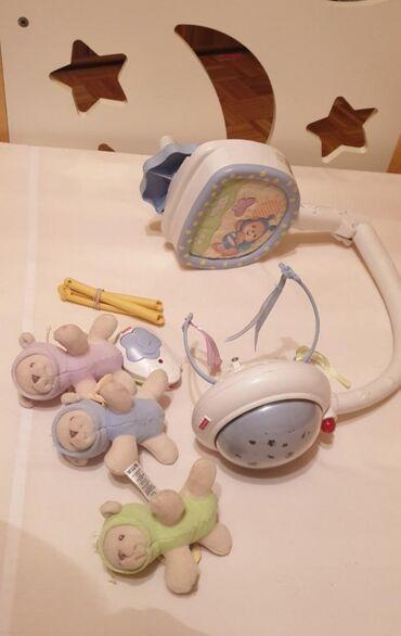 Fisher Price muzička vrteška za bebe u odličnom stanju. Ova vrteška