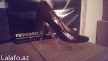 Sumqayıt şəhərində Комфортабельная,кожаная обувь. Размеры 38,39,40