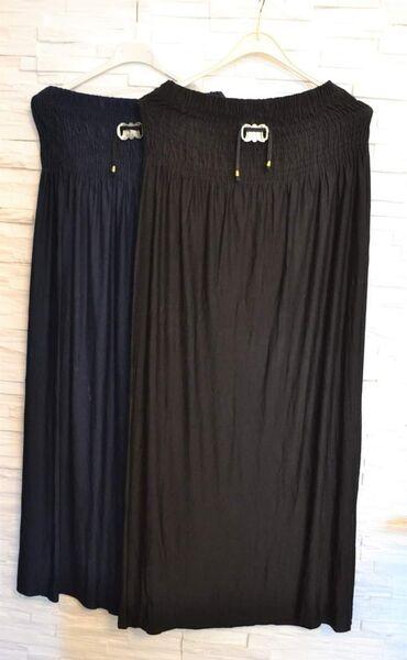 Дуге памучне сукње, црна и тегет боја!! Произведено у Турској!