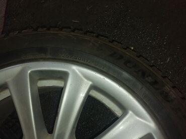 диски 17 бу в Кыргызстан: Продаю диски с шинами на BMW, в отличном состоянии, резина зима