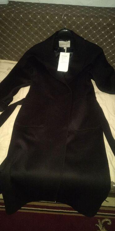 Продаю чёрное пальто. Производство Турция. Ткань - итальянский кашемир