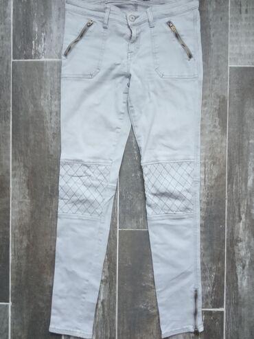 Pantalone cm - Srbija: Duboke uske pantalone, poluobim struka 37 cm, dubina napred 21 cm