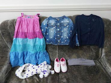 платье с люрексом больших размеров в Кыргызстан: Продаю одежду и обувь на девочку от 5 до 7 лет. Все фирменное