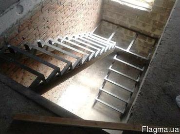 Лестницы каркас замеры бесплатно. все сварочные работы обр по ном в Бишкек