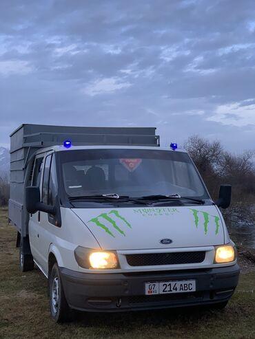 продажа авто форд транзит в Кыргызстан: Продаю форт транзит дубль кабина состоения идиально все работает все х