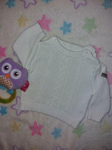Končani džemper vel.56, bele boje, bez fleka i rupica, kao nov!