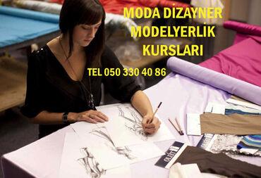 "- Azərbaycan: Modalyerlik moda dizayn kursları  Moda dizayn kursları, ""Moda Dizayner"