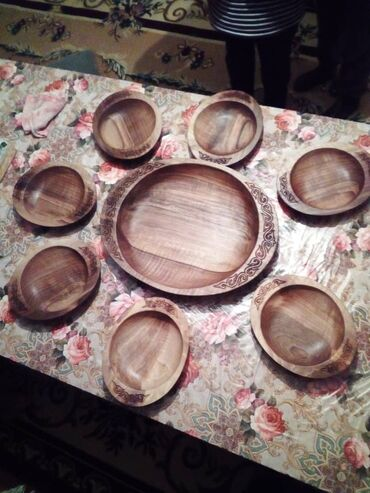 как заказать кошку в Кыргызстан: Деревянная посуда на заказ и в наличии. Древесина орех!Только звоним