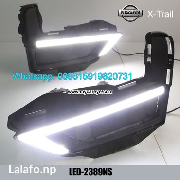 Nissan x-trail 2017 drl led daytime driving lights lamps parts in Kirtipur