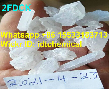 Buy 2FDCK white crystal WhatsApp+86 Want Cannabinoids&Stimulants