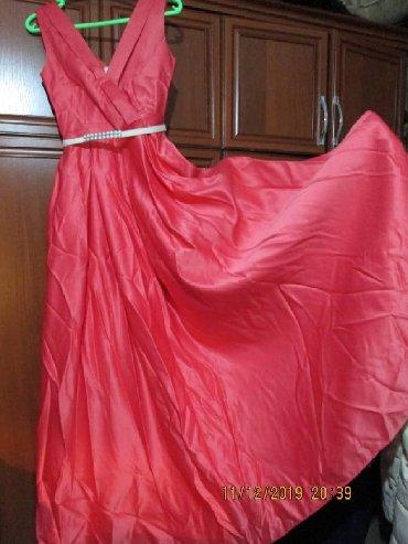 Платье размер 42-44 .одевалось один раз на выпускной️.на фото не глаж