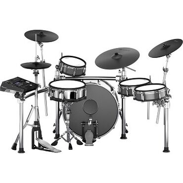 Μουσικά όργανα - Ελλαδα: Roland TD50KVX 5-piece Electronic Drum Set with 22 Bass Drum