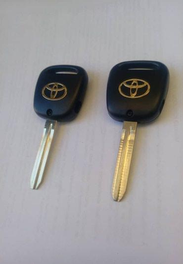 Корпус ключа тайота боковая кнопка от в Бишкек
