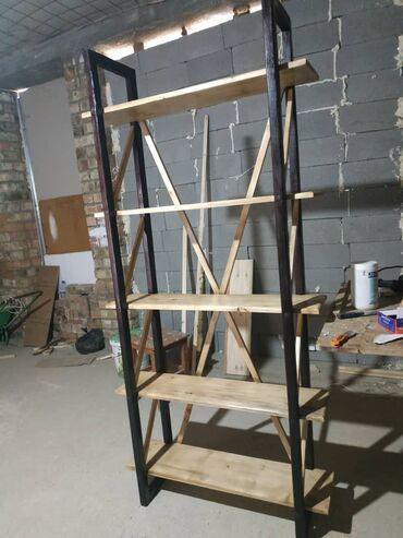 Продаю этажерку из дерева.Высота 2 метра длина 90 см ширина 29 см цена